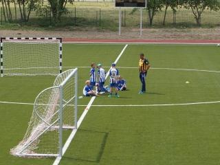 Futbolo varžybose