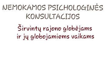 Nemokamos psichologinės konsultacijos