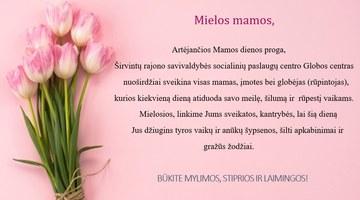 Sveikiname su Motinos diena