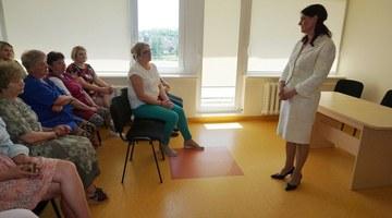 Socialinių paslaugų centro gyventojai sulaukė garbingų svečių