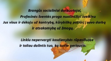Lietuvos socialinių darbuotojų diena
